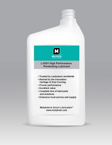 Molykote® L-0501 High Performance Penetrating Lubricant 1 Gal.